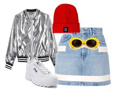 """90s"" by m00db0ard on Polyvore featuring мода, Sans Souci, Givenchy, Fila и Aloha From Deer"