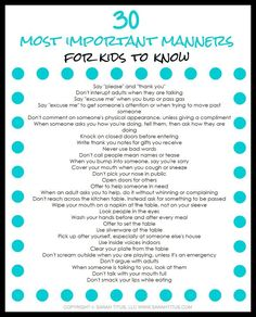 FREE PRINTABLE: Have you ever wondered how some children act one way in public while others act a completely different way? This busy mom's guide to teaching your children manners is for you! Learn practical skills to teaching your children manners, what the manners are, and why they are important in this guide. Need help remembering? Get this free printable to help you stay on course!