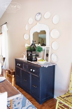 ABBE'S HOUSE | dining room | Miss Mustard Seeds Milk Paint