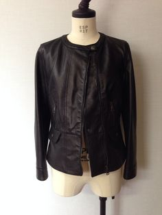 DOLCE & GABBANA leather riders jacket