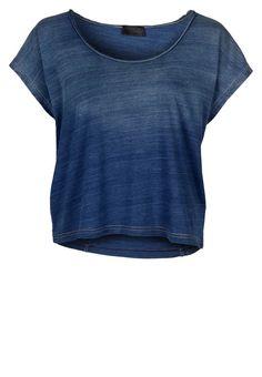 T-CARIUM - T-shirts - kortärmade - Blått