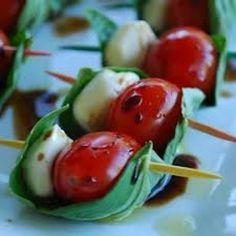 #Buffalo Mozzarella, Cherry Tomatoes and Traditional Balsamic Vinegar Recipe
