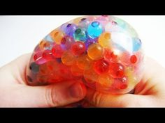 Antistresový balónek z Orbeez perel Slime, Anti Stress Ball, Balle Anti Stress, Diy Inspiration, Fidget Toys, Cool Stuff, How To Make, Crafts, Youtube