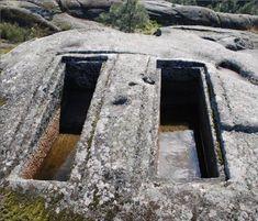 Sanctuary of Panoias in the Vila Real Portugal average altitude of 460 meters, 85 kilometers east of Atlantic Ocean. The origins of Vila Real lost in time,