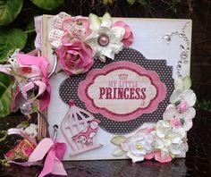 Scrapbook Album   Handmade Mini Album  Birthday by shereenaftab, $42.50