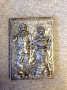 Custom Bride and Groom Couple in Carbonite (via Paul Pape designs)