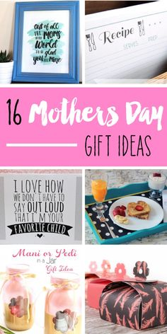 16 Mother's Day Gift Ideas that are affordable, easy and great for last minute gifts