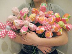 Paper Mache Flowers Made To Order  Size Small by MaiseysDaiseys,