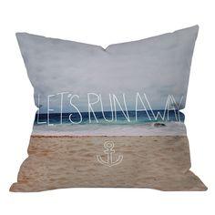 Lets Run Away Pillow