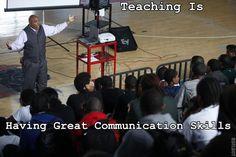 MzTeachuh: Teaching Is Communicating