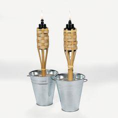Mini Bamboo Torches - OrientalTrading.com