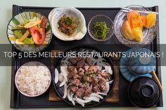 TOP 5 : les restaurants traditionnels japonais sur Aix et Marseille