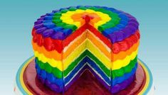 what a nice colourful spring cake.