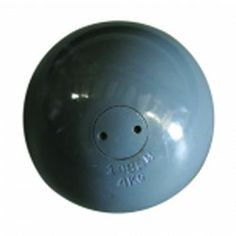 This womens 4kg precision turned iron shot put is precision made for competition.