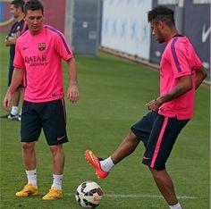 Neymar is back (FC Barcelone) - http://www.actusports.fr/115364/neymar-is-back-fc-barcelone/