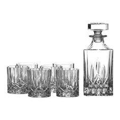 Set de vasos y decantador Seasons de Royal Doulton