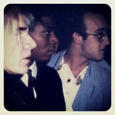 Awsome!!! oh to be there!!! --Warhol / Basquiat / Haring: the Mount Rushmore of the 1980's NY art world