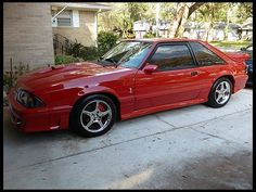 1990 Ford Mustang GT LX   This was my 1st car but it was a special paint job that was Navy but changed color depending on how the light hit it !!  It was a manual