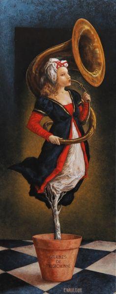 Catherine Chauloux   ~  Un petit air ...