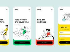 Primzee - Mobil Application designed by Sencer B. Yılmaz for creathive. Connect with them on Dribbble; App Ui Design, Mobile App Design, Interface Design, User Interface, Flat Design, Design Design, Sketch Design, Design Concepts, Design Trends