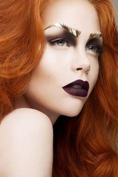 Vampire Inspired Halloween Makeup