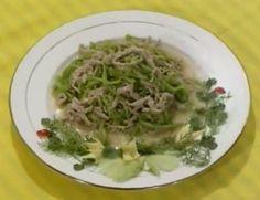 DIY 徽菜 (75) 苔干羊肉丝  http://easydiy365.com/?p=9188