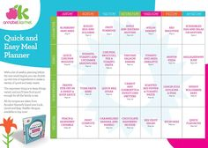 Quick & Easy Meal Planner