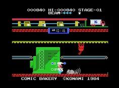 Comic Bakery MSX 1984