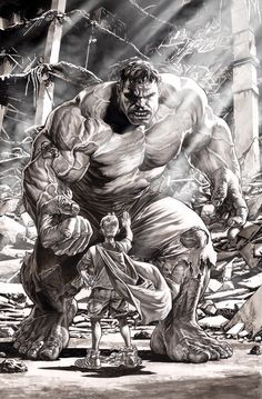 #Hulk #Fan #Art. (Hulk) By: Lee Bermejo. (THE * 3 * STÅR * ÅWARD OF: AW YEAH, IT'S MAJOR ÅWESOMENESS!!!™)[THANK Ü 4 PINNING!!!<·><]<©>ÅÅÅ+(OB4E)