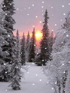 Zima - анимация на телефон №1213228 Christmas Scenes, Christmas Images, Winter Christmas, Christmas Morning, Winter Images, Winter Pictures, Snow Activities, Winter Scenery, Winter Photography