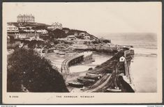 The Harbour, Newquay, Cornwall, 1911 - Kingsway RP Postcard