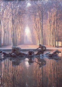 Versailles, The Apollo Fountain - The Versailles Garden - France