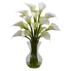 Nearly Natural Galla Calla Lily Silk Flower * You can get additional details at the image link.