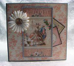 TPHH Sharon Chipboard PREMADE Graphic 45 Keepsake Photo Scrapbook Album ~Video #Scrapbook_Mum