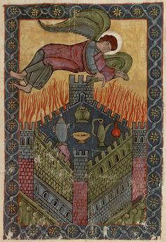 Commentary on the Apocalypse (Commentaria In Apocalypsin), Beatus Libanensis, 8th C.