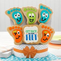 Get Well Gift Baskets - Get Well Cookie Gift Bouquet Get Well Gift Baskets, Get Well Gifts, Shortbread Cookies, Yummy Cookies, Gift Bouquet, Cookie Gifts, Special Occasion, Hospital Gifts