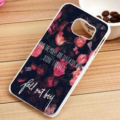 Fall Out Boy Quotes Samsung Galaxy S3, S4, S5, S6, S6 Edge, S7 Case - gogolfnw