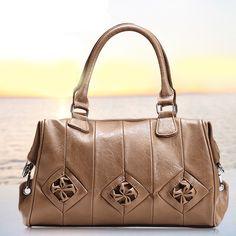 Fashion Vintage Concise Flowers Design Lady's Handbags,26.99,