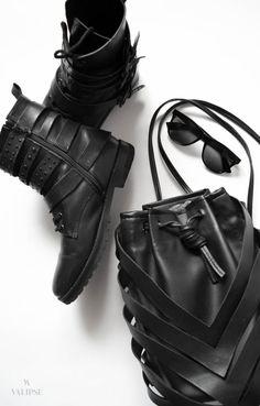 Back to Black Convertible Backpack, Unique Bags, Minimal Fashion, Back To Black, Vegan Leather, Bucket Bag, Streetwear, Crossbody Bag, Essentials