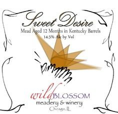 Mead Wine - NV Wild Blossom Meadery Winery Sweet Desire Mead 500 mL *** Be sure to check out this awesome product. Mead Wine, Gourmet Recipes, Cooking Recipes, Wines, Image Link, Meal, Canning, History, Awesome