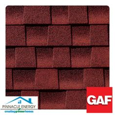 Patriot Red: These shingles offer a natural beauty and incredible thickness that you'll notice and appreciate
