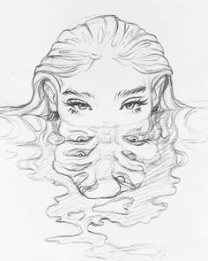 Cool Art Drawings, Art Drawings Sketches, Easy Drawings, Disney Drawings, Unique Drawings, Fantasy Drawings, Cool Sketches, Pencil Sketch Drawing, Pencil Art Drawings