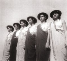 Vintage Parsi ladies in sari.