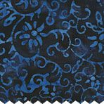 Batik fabrics are amazing.  Love that there isn't a wrong side of the fabric.