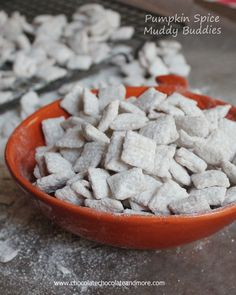 "TweetPumpkin Spice Muddy Buddies I feel like I am constantly making confessions here. It must be because this is my safe place and you are all my friends. And maybe, also, because none of my ""confessions"" are life altering, earth shattering, could keep me from getting appointed to the supreme court. Ok, on that last …"