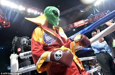 The American has re-launched himself as 'The Alien' in his last couple of world title figh...