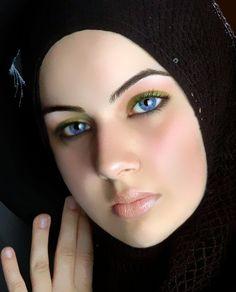 Muslim Female In Niqab and Hijab Just Islamic Way