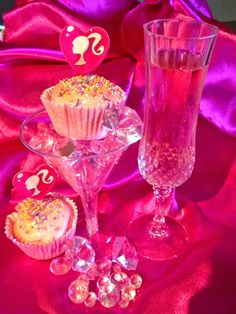 Pink Champagne Cupcakes! 2 Ingredients!!!