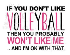 Funny Volleyball Pictures, Volleyball Signs, Volleyball Motivation, Volleyball Training, Volleyball Workouts, Play Volleyball, Funny Volleyball Quotes, Inspirational Volleyball Quotes, Funny Quotes