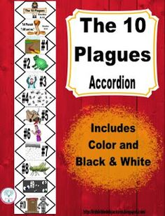 Moses and the 10 Plagues Accordion